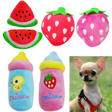 Small Chihuahua Dog Toy Pet Puppy Squeaky Toys Play for Fun Teacup Dog Yorkie