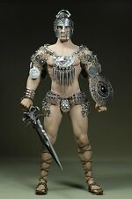 Phicen 1/6 Steel Skeleton Male Armored Sparta Clothes Set With Sword For Body