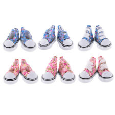 1Pair High Top Canvas Ankle Strap Shoes Sneaker for 1/6 BJD SD DOD LUTS Doll