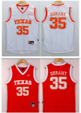 Kevin Durant #35 NCAA Texas White Red Men Devils Retro Basketball Jersey S- 2XL