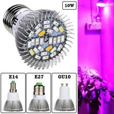 5730SMD 28Led 10W Full Spectrum Greenhouse Hydroponic Grow Plant Light Bulb Lamp