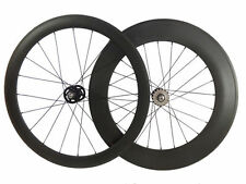 50+88mm Tubular Carbon Wheels Road Bicycle Road Bike Track Fixed Gear Wheelset