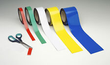 Magnetic Tape / Magnetic Strip, Easy Wipe Racking Strip, 25mm High x 10M Long