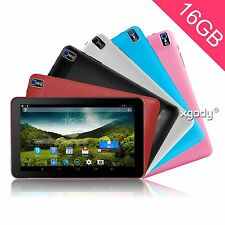 XGODY 9'' 16GB ANDROID 4.4 TABLET PC QUAD CORE 1.33GHz WEBCAME WI-FI TOUCHSCREEN
