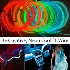 EL Wire Kits by Twisted Glow, Bendable Lighting Wires Sound-Activated Battery