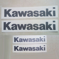 4 X Sticker Kawasaki for motorbike car windows and other. Vinyl Decal moto r31