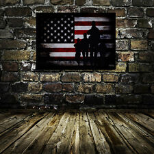 Oil Painting HD Print Wall Decoration Art on Canvas The American flag Unframed
