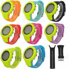 Sports Silicone Rubber Replacement Watch Band Wrist Strap For SUUNTO Ambit 3/2/1