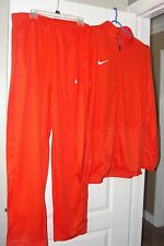 NIKE DRI-FIT BASKETBALL WARM UP SUIT JACKET + PANTS ORANGE + BONUS