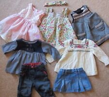 Baby Girls 3-6 Months 7 Piece Designer Bundle Monsoon Jasper Conran Next Dress