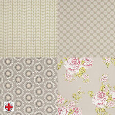 Taupe Floral Multiple Designs and Sizes, Oilcloth Wipeclean Tablecloth, PVC