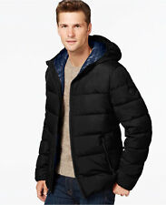 New MICHAEL Michael Kors Mens Down Jacket Coat Black / Midnight Size L $225