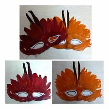 Eye Mask Colorful Feather Mardi Gras Costume Party Venetian mask Masquerade