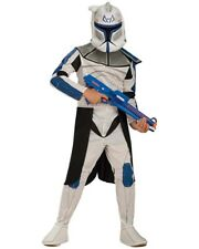 Star Wars Clone Wars Captain Rex Boys Costume Size S