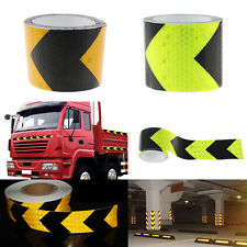 5*300cm Night Reflective Safety Warning Conspicuity Tape Strip Arrow Sticker New