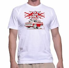"""EJ HOLDEN GMH  """" IF IT'S TOO LOUD YOU'RE TOO OLD """" RETRO VINTAGE T SHIRT"""