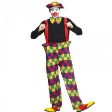 Mens Clown Costume Adults Male Fancy Dress Circus Coco Mens Party Outfit