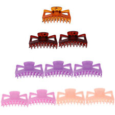 10pcs Women Girls Large Hair Claws Clip Jaw Clamp Multicolor Hairpin For Girls
