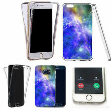 360° Silicone gel full body Case Cover for many mobiles - infinite space