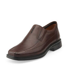 New Clarks Shoes Unstructured Un.Sheridan Dark Brown Soft Leather 26087743 SALE