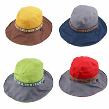 Fisherman Outdoor Fishing Climbing National Style Floppy Cap Bucket Sun Hat