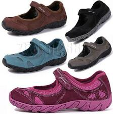 Womens Waterproof Water Shoes Leather Trail Hiking Sports Walking Outdoor New BP
