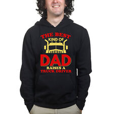 Truck Driver Dad Father Day Daddy Gift Sweatshirt Hoodie Shirt