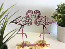 Flamingo Cake Toppers Personalized Cake Toppers Flamingo Cupcake Flamingo Party