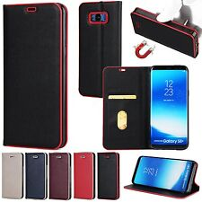 Luxury Leather Wallet Case For Samsung Galaxy S8+Plus/S8 Cover Pouch Stand Flip