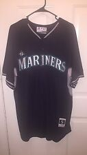 Seattle MARINERS MLB AUTHENTIC MAJESTIC Batting Practice Cool Base JERSEY Adult