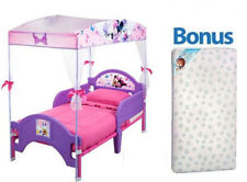 Disney Nickelodeon Canopy Tent Toddler Bed With Bonus Mattress MULTIPLE CHOICE
