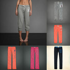 NWT A&F Hollister Gilly Hicks Womens Sweatpants Boot Cropped Skinny Sz XS, S