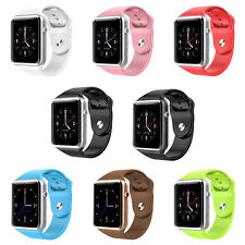 New Smart Wrist Watch Bluetooth Waterproof GSM Phone For Android Samsung IOS