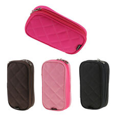 Women Multifunctional Mirror Travel Cosmetic Bag Makeup Case Pouch Toiletry