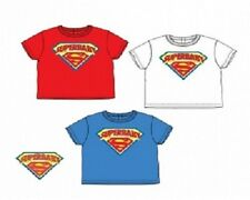 Baby T-Shirts Superman Superbaby Official Marvel Superhero Tops Kids Boys New