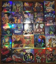 Lot 8 Disney DVDs: Beauty and the Beast, Aladdin, Cinderella,Monsters ........