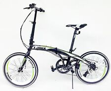 NEW folding bike 20 inch wheels & 7 speed shimano gears disc brakes & carry bag