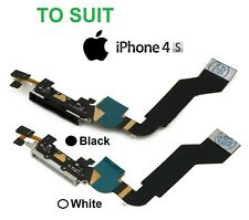 iPhone 4S Data Charger Port Flex Cable Charging Dock Connector Replacement Parts