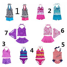 Toddler Kids Baby Girls Tankini BIKINI Swimwear Swimsuit Suit Beachwear Bathing~