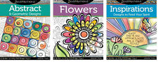 ZENSPIRATIONS COLORING BOOKS-Zentangle Line Drawing Altered Art-Paper Craft Book