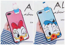 Cute Donald Duck Silicon Case Cute Couple Cover For iPhone 6/6S/7 Plus Hot