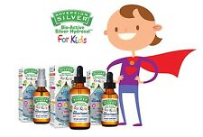 Sovereign Silver For Kids Bio-Active Silver Hydrosol for Immune Support - 10PPM