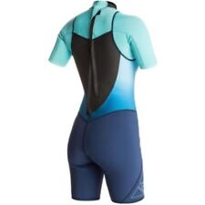Roxy Syncro 2/2 Back Zip Women's Springsuit Surfing Watersports Surf Wind New