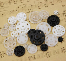 10Pair Plastic Snap Fastener Press Stud Sewing Leather Clothing DIY Craft Button