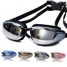 Men Women Anti Fog UV Protection Swimming Goggles Waterproof Swim Glasses