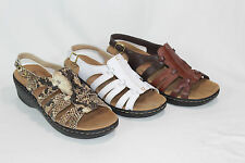 Clarks Leather Lightweight Sandals - Lexi Marigold PICK SIZE & COLOR PO
