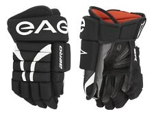 "Eagle Aero Senior Hockey Gloves! 12"" 13"" 14"" Black Navy White Glove MSH3 Palms"