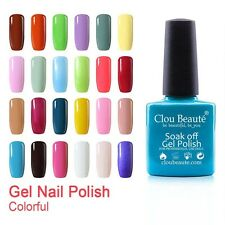 Clou Beauté 79 Colours UV LED Gel Nail Polish Primer Top Coat Soak Off Nail Art