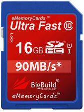 16GB Memory card for Nikon Coolpix AW100 Camera | Class 10 80MB/s SD SDHC New UK