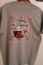 GREAT SMOKY MOUNTAIN SIMPLY SWEET T-SHIRT ~ SIMPLY S T-SHIRT ~ SIZE SELECT